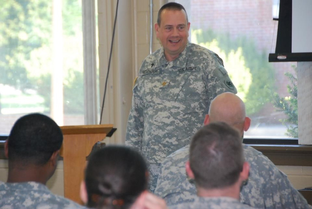 Military Chaplaincy with Randy Ridenour